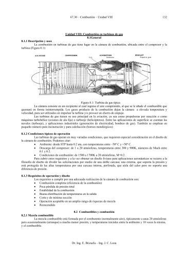 Combustión en turbinas de gas 8