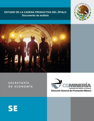 Cadena productiva del Ópalo - Secretaría de Economía