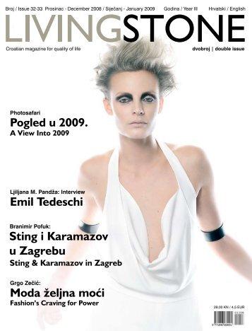 Sting i Karamazov u Zagrebu Emil Tedeschi Moda ... - Get a Free Blog