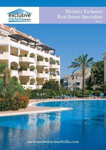 Elviria's Exclusive Real Estate Specialists - Exclusive Marbella Estates