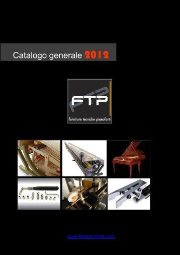 Visualizza catalogo in PDF - FTP Forniture Tecniche Pianoforti