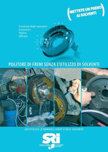 Solvente pulitore v33 it for Pulitore di cabina