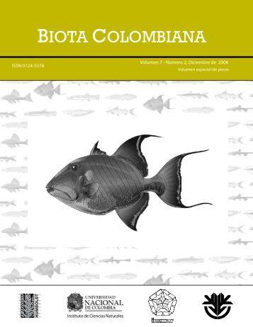 biota colombiana - Instituto de Investigación de Recursos Biológicos ...
