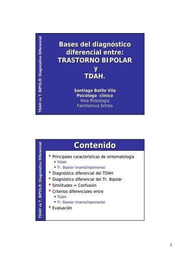 Diagnóstico Diferencial - heia - psicologia