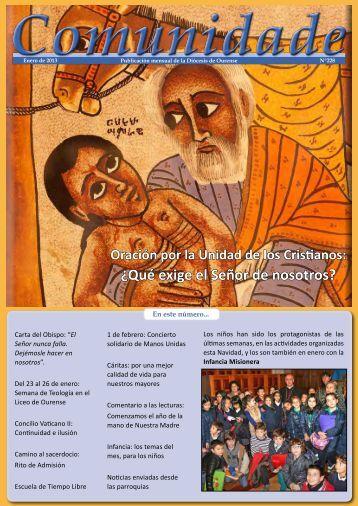 Comunidade Nº228 - Enero de 2013