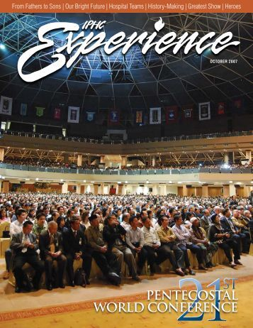 PENTECOSTAL WORLD CONFERENCE - IPHC Experience