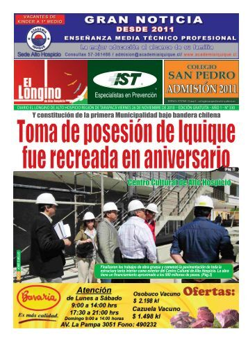 Centro Cultural de Alto Hospicio - Diario Longino