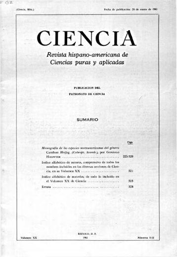 CIENCIA - Consejo Superior de Investigaciones Científicas
