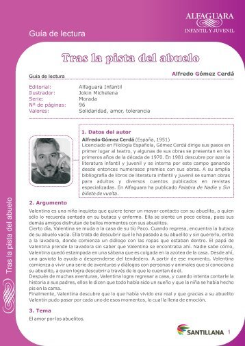 TRAS LA PISTA DEL ABUELO - La Infoteca