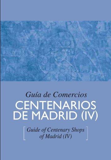 Guía de Comercios Centenarios de Madrid