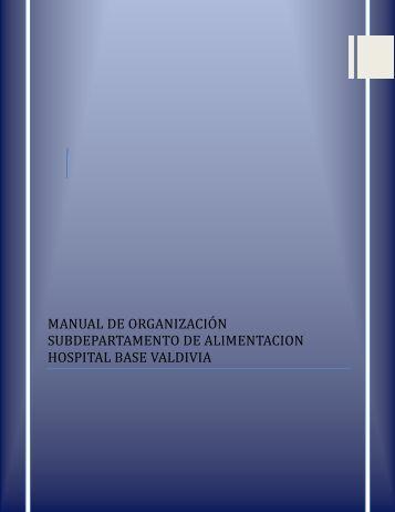 Manual de Procedimientos y Organizacion Alimentacion.pdf