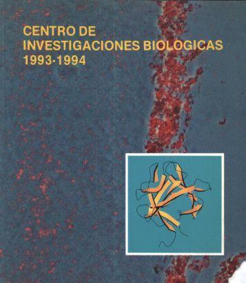 Memoria CIB 1993-1994... - CSIC - Consejo Superior de ...
