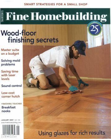 A No Fuss Newel Post Fine Homebuilding