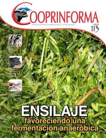 favoreciendo una fermentación anaeróbica - Cooprinsem