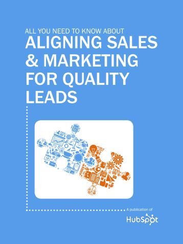 Aligning Sales & Marketing for Quality Leads