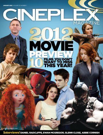 Cineplex Magazine January 2012
