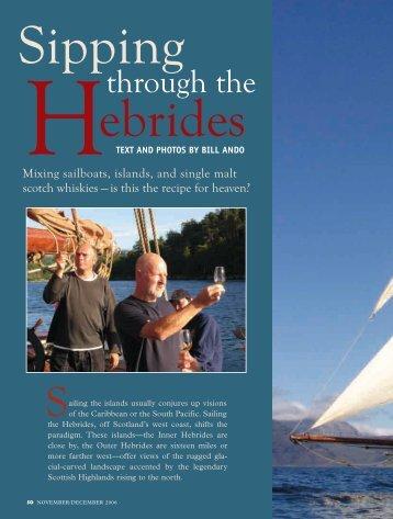 The hebrides programme