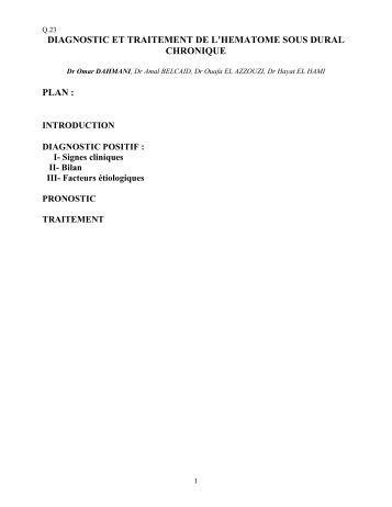 conduite a tenir devant une intoxication aigue pdf