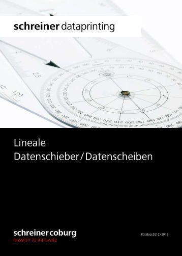 Datenschieber datenscheib for Schreiner coburg