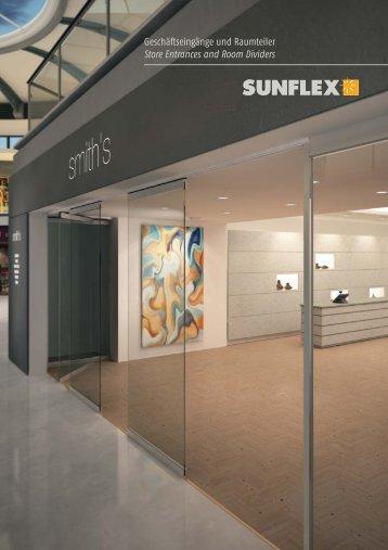 Geschäftseingänge und Raumteiler Store Entrances and Room Dividers