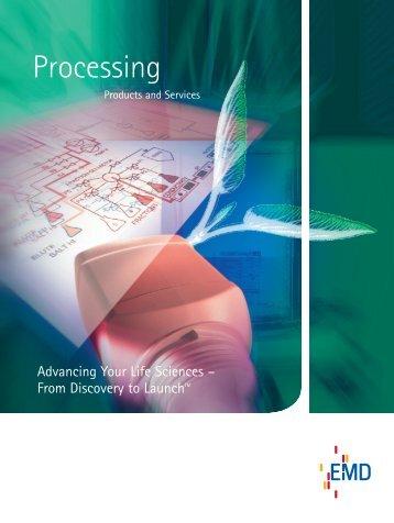Processing Catalog - EMD Chemicals
