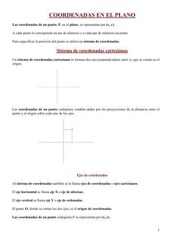 Iniciación a la geometría analítica - Amolasmates