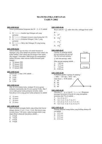 Soal Un Matematika Smp 2015 Pdf Wowkeyword Com