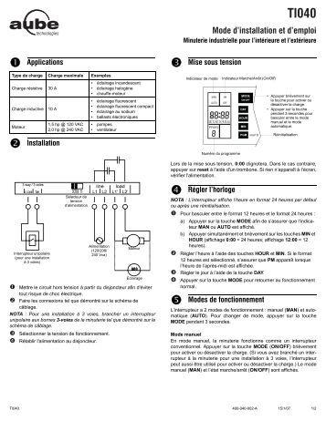 70 free magazines from aubetech com - Velux installation mode d emploi ...