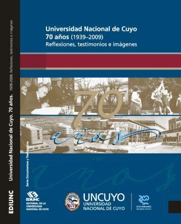 Aniversario bis - Biblioteca Digital - Universidad Nacional de Cuyo