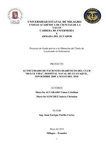 10 AUTOCUIDADO DE PACIENTES DIABETICOS DEL CLUB ...