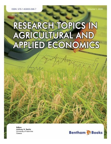 agricultural research paper