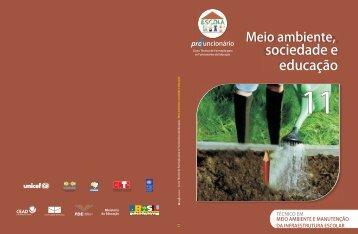 Meio Ambiente, Sociedade e Educação - Portal do Professor ...