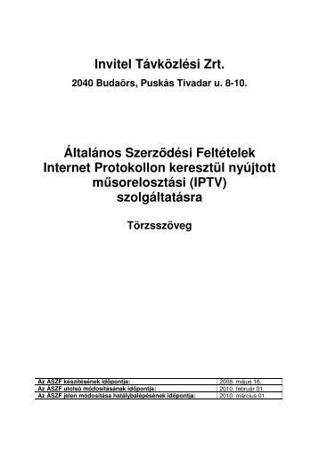 IPTV - Invitel