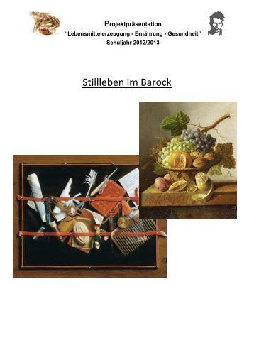 Stillleben im Barock