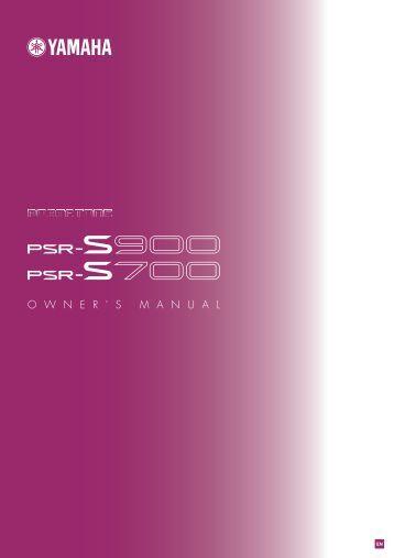 Psr 450 owner 39 s manual for Yamaha 88 key digital piano costco