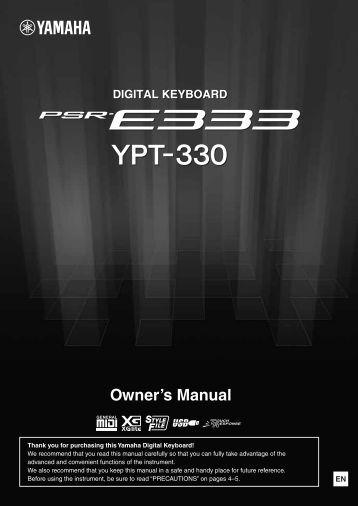 user manual yamaha psr a3 my pdf manuals 1 User Manual User Manual