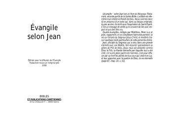 Jean NT - Info-Bible