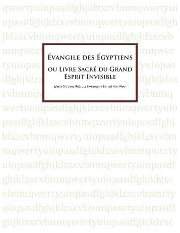 Évangile des Égyptiens - Iglesia Cristiana Gnóstica Litelantes y ...