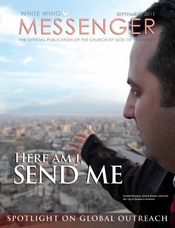 Samvel Minasyan, church planter, overlooks the city of Yerevan in ...
