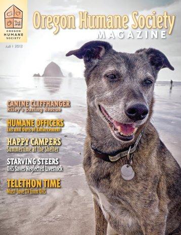Fall 2012 - Oregon Humane Society