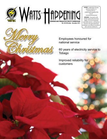 October - December 2011 - Trinidad and Tobago Electricity ...