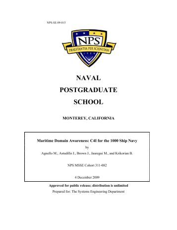 naval postgraduate school thesis search