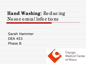 reducing infection through handwashing This page contains information on training resources hand hygiene healthcare   by theme / initiative healthcare associated infections training resources   preventing and controlling healthcare infection: domestic services training.