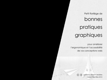bonnes pratiques graphiques - Paris Web
