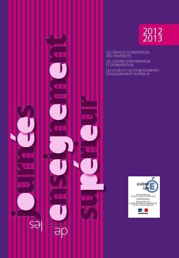 Journées de l'enseignement supérieur - Onisep