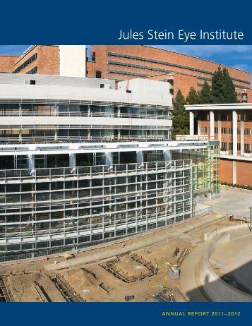 View Annual Report - Jules Stein Eye Institute