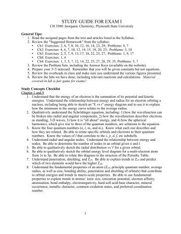 Preparing For Attainment Examinations - Supplemental ...