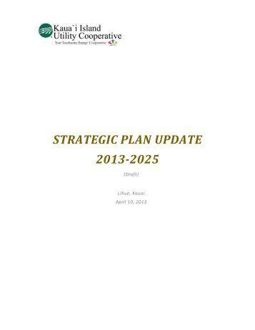 draft of the plan - Kauai Island Utility Cooperative