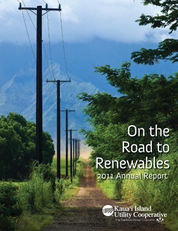 2011 Annual Report - Kauai Island Utility Cooperative