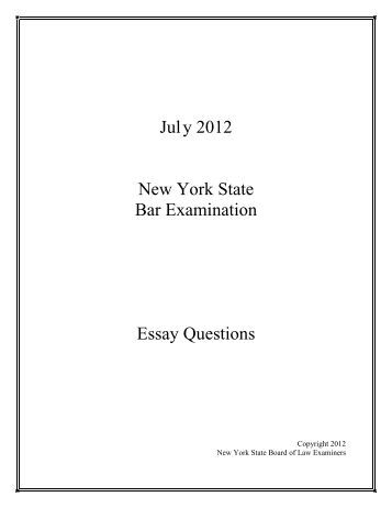 new jersey bar essay subjects Learn about bar exam questions new jersey ube jurisdiction visit your state bar's homepage to check the exact subjects and test types administrated.